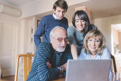 Família InCloude - tecnologia desenvolvida em equipe